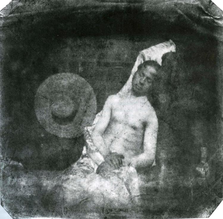 Hippolyte Bayard autoportret zdjęcie martwego człowieka