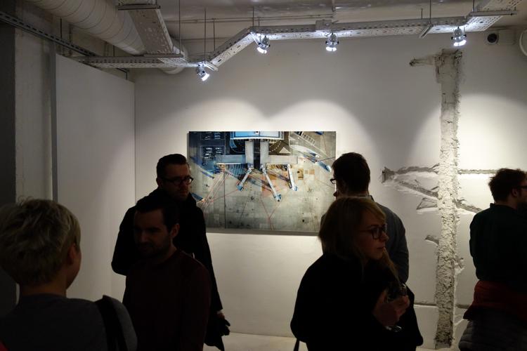 Niektóre fotografie szczególnie wpisywały się we wnętrza galerii