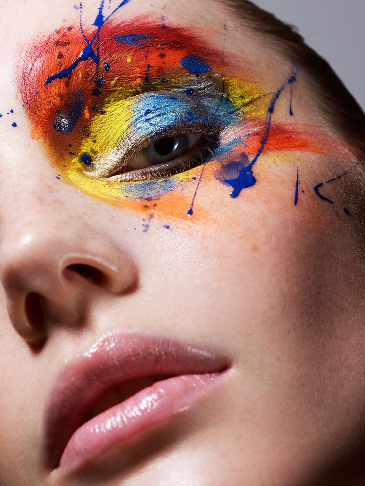 """""""Uwielbiam pracę zkreatywnymi charakteryzatorami ispecjalistami od makijażu. Dotti zeStreeters NY jest rewelacyjna. Tozdjęcie z testów"""" (fot. James Houston)"""