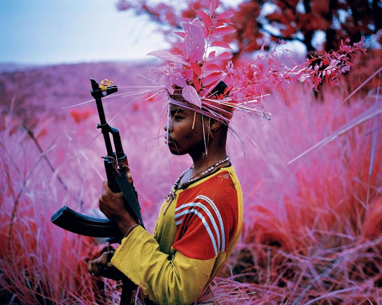Richard Mosse, wojna w Kongo, fotoreportaż