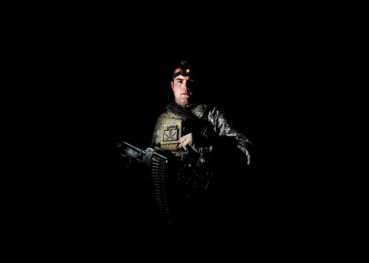 Starszy szeregowy Shea Porter z San Diego (California), fot. Dima Gavrysh.