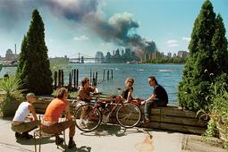 Zamach z 11 września na zdjęciu Thomasa Hoepkera