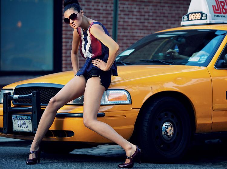 Borys Makary - sesja zdjęciowa w Nowym Jorku