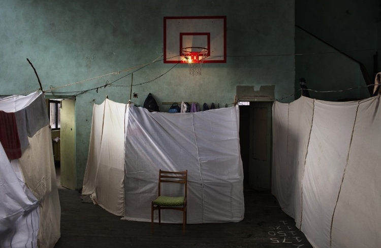 """I nagroda w kat. General News - zdjęcie pojedyncze, """"Temporary accommodation"""", fot. Alessandro Penso"""