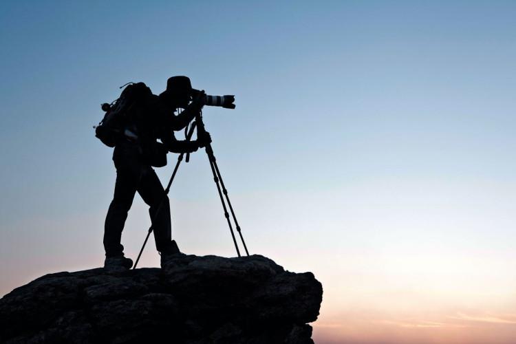 fotografia krajobrazu statyw fotograf