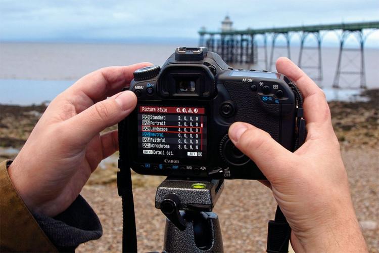 fotografia krajobrazu ustawienia aparatu