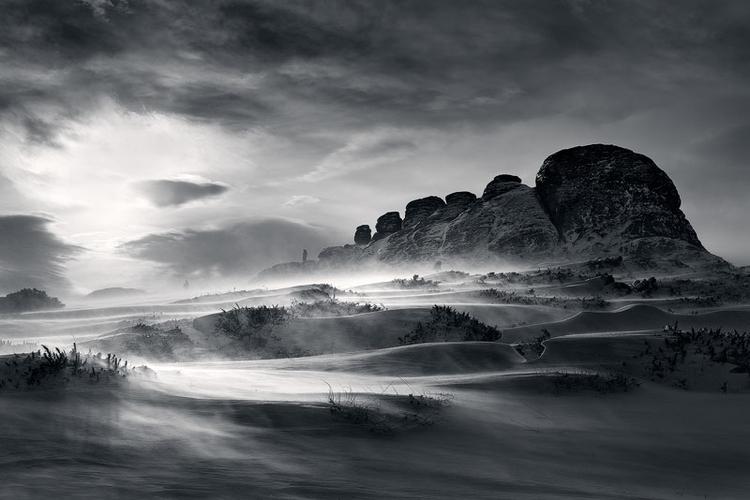 Zacznij robić czarno-białe zdjęcia krajobrazowe