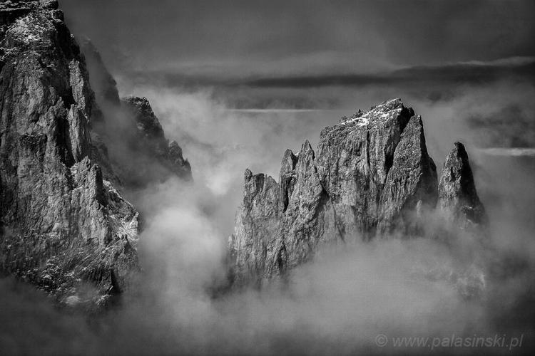 Dolomity, Sassolungo. Fot. Arkadiusz Pałasiński