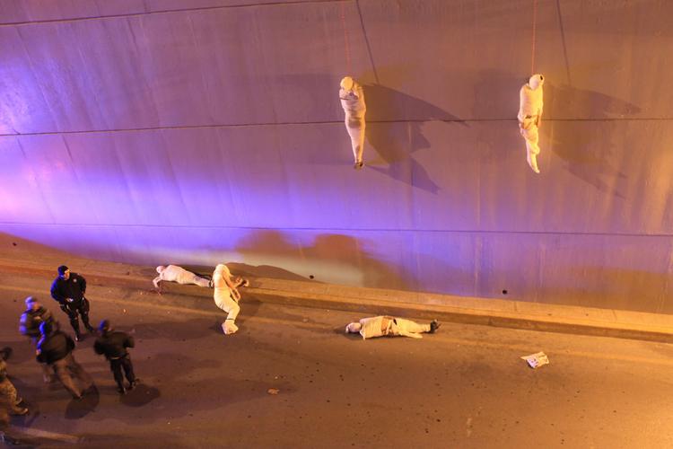 """III nagroda w kat. Problemy współczesne - zdjęcie pojedyncze, """"Victims of organized crime"""", fot. Christopher Vanegas"""