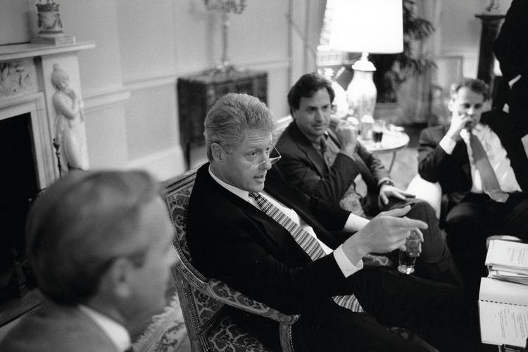 Sala spotkań gabinetu prezydenta Billa Clintona