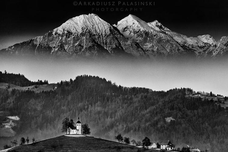 Kościół św. Tomasza, Słowenia. Fot. Arkadiusz Pałasiński