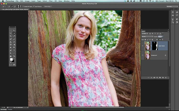 Edycja w Photosopie CS6 - Tworzymy maski Wykonaj kroki od 1 do 3, aby w ACR poprawić kolorystykę i tonację obrazu, a następnie otwórz zdjęcie w standardowym edytorze. Techniki zaznaczania i tworzenia maski wykonuje się tak samo w CS6, ale rozmywanie obrazu wygląda inaczej...