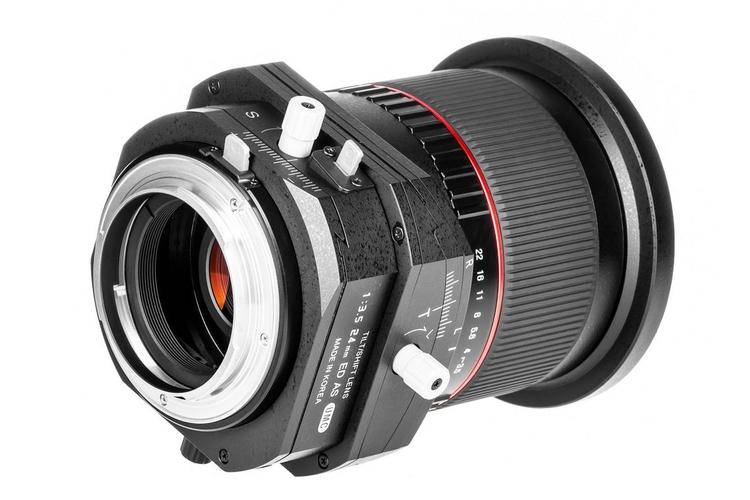 Samyang Tilt-Shift 24 mm z mocowaniem dla Pentaksa