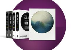 Kolorowe polaroidy z okrągłymi ramkami