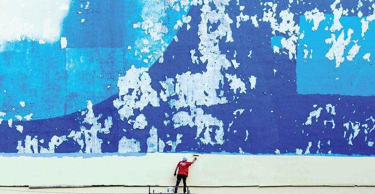 Kolor w przestrzeni miejskiej na zdjęciach Marcina Barana