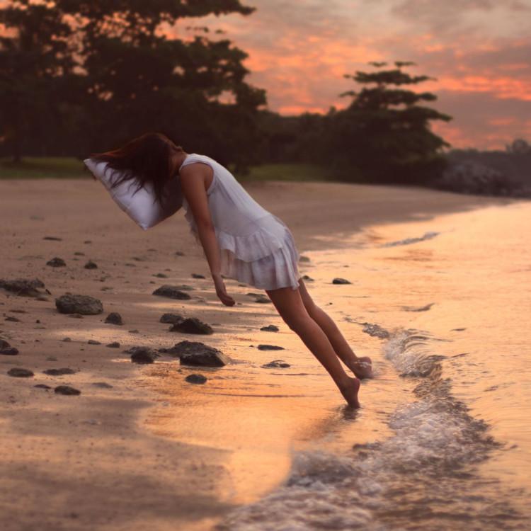 Kylie Woon lewitujące zdjęcia