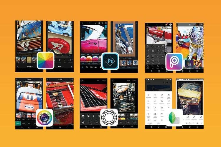 Mobilne aplikacje do edycji zdjęć [minitest]