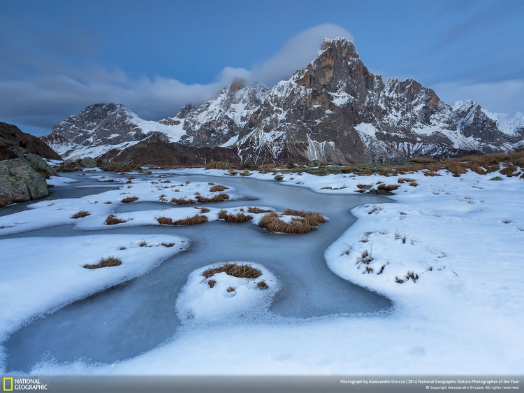"II miejsce w kategorii ""Krajobraz"" - ""Wild rink"", fot. Alessandro Gruzza | NG Nature Photographer of the Year 2016"