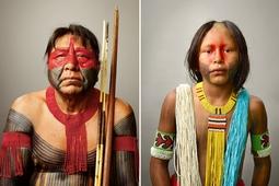 Mistrz portretu, Martin Schoeller, fotografuje Indian w Amazonii [wideo]