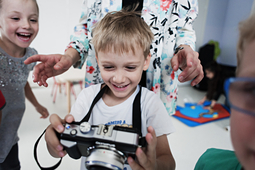 Warsztaty fotograficzne dla dzieci - nowość  w Akademii Fotografii