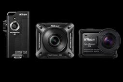 Trzy kamery sportowe Nikon KeyMission