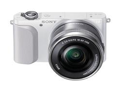 Autoportret z Sony NEX-3N