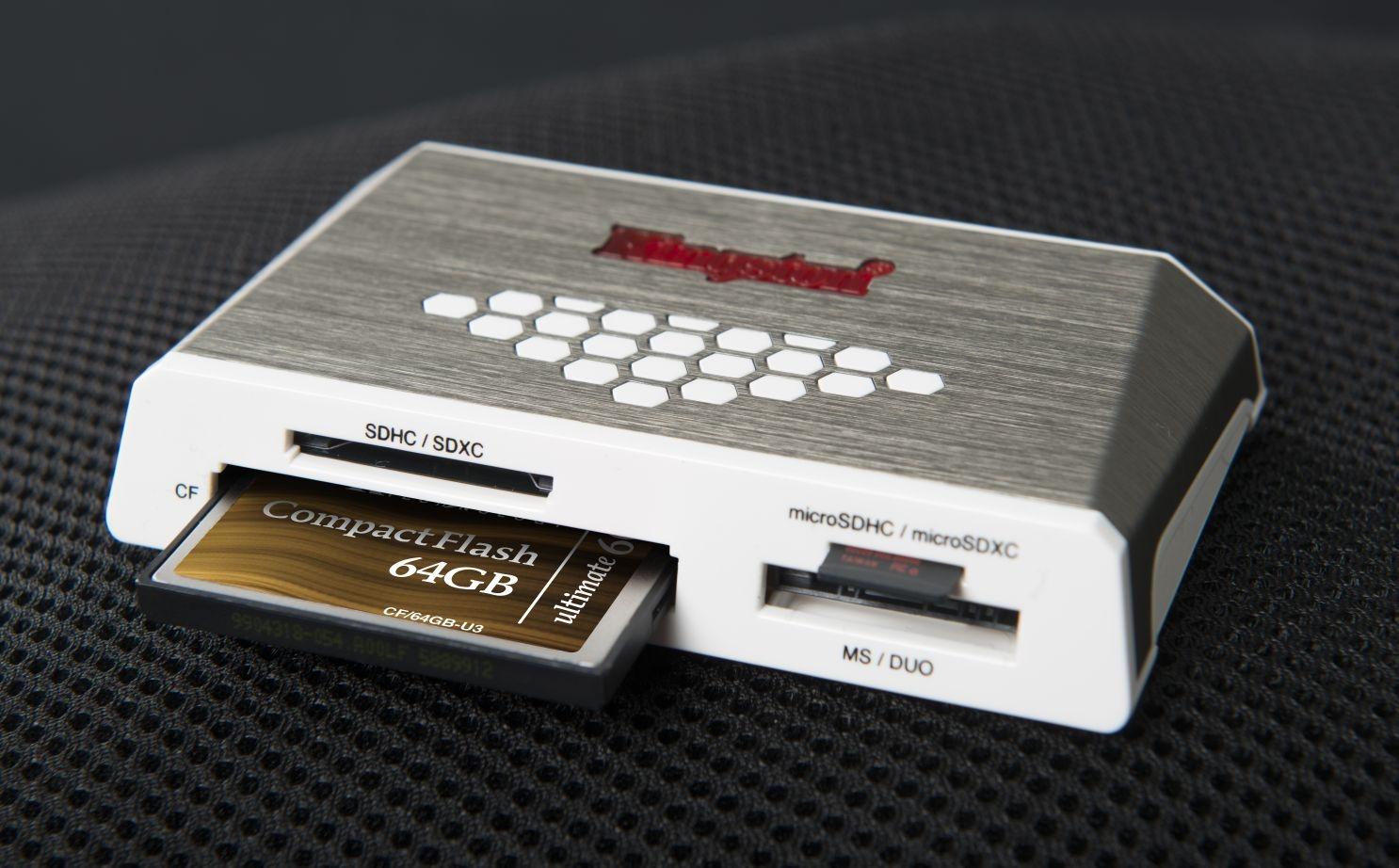 Nowy Czytnik Usb 3 0 Oraz Karta Cf 64 Gb 600x Od Kingstona