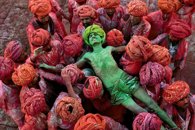 India, zdjęcie Steve McCurry