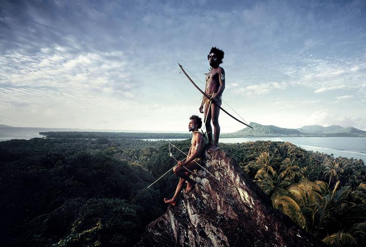 Melanezyjczycy z Vanuatu, fot. Jimmy Nelson.