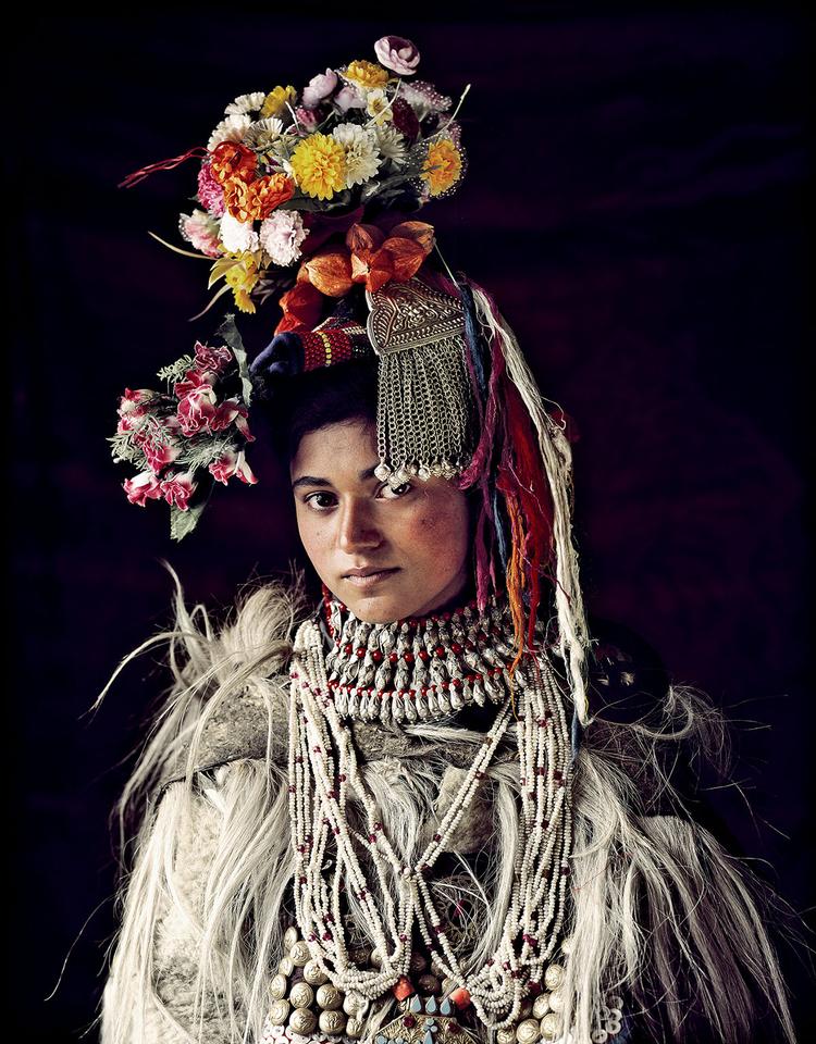 Dziewczyna z ludu Drokpa, Kaszmir, fot. Jimmy Nelson.
