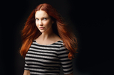 Oświetlenie portretowe na ostro, ale z softboksem