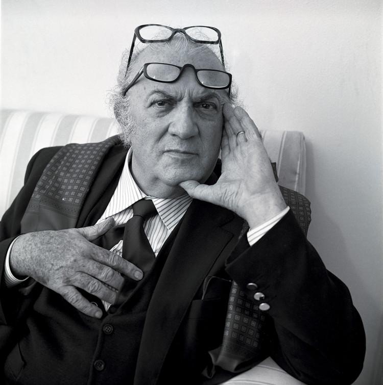 "Federico Fellini z cyklu ""Legends"", fot. Volker Hinz"