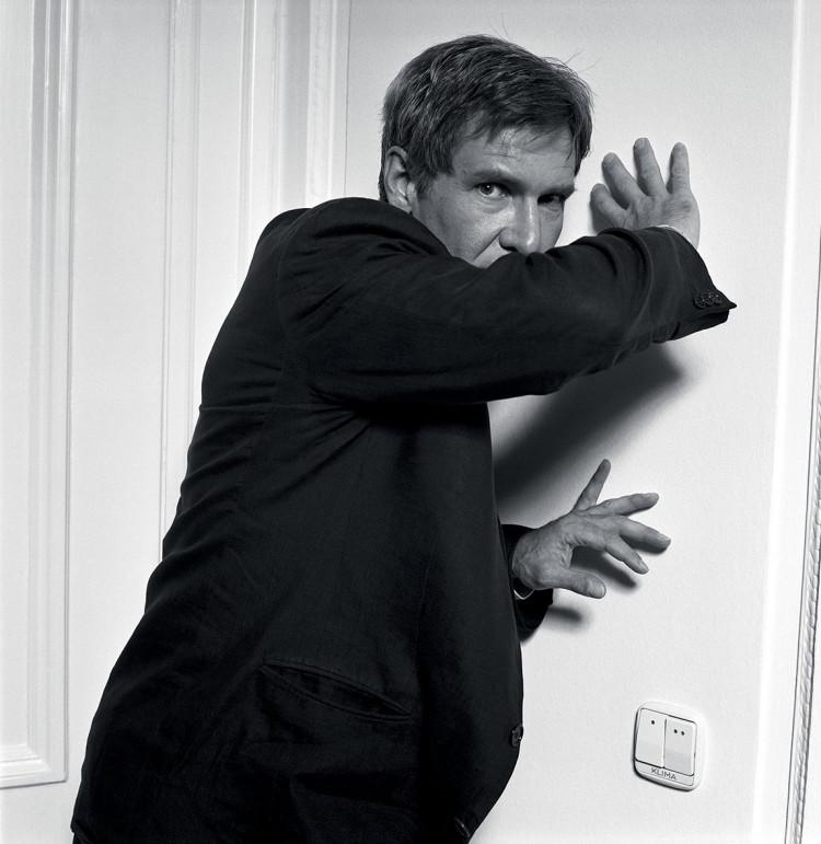 """Harrison Ford z cyklu """"Legends"""", fot. Volker Hinz"""