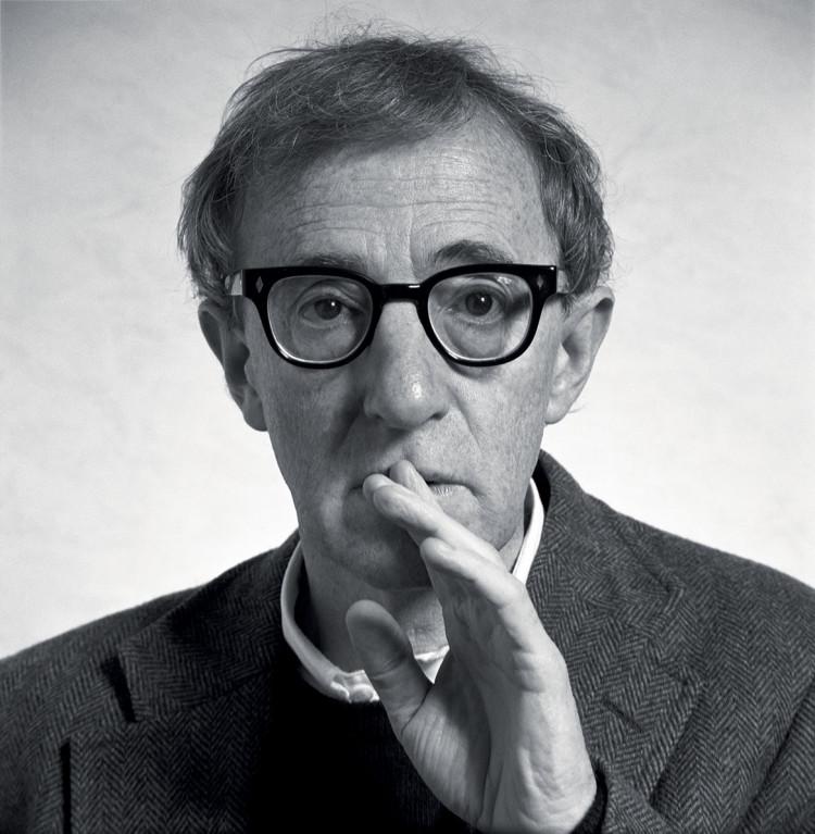 """Woody Allen z cyklu """"Legends"""", fot. Volker Hinz"""
