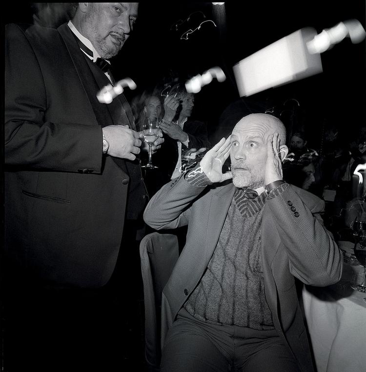 "John Malkovich z cyklu ""Legends"", fot. Volker Hinz"