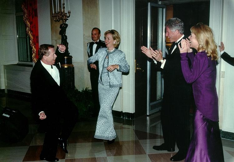 Rock and roll w Białym Domu, 15 marca 1999, fot. Alan Pajer