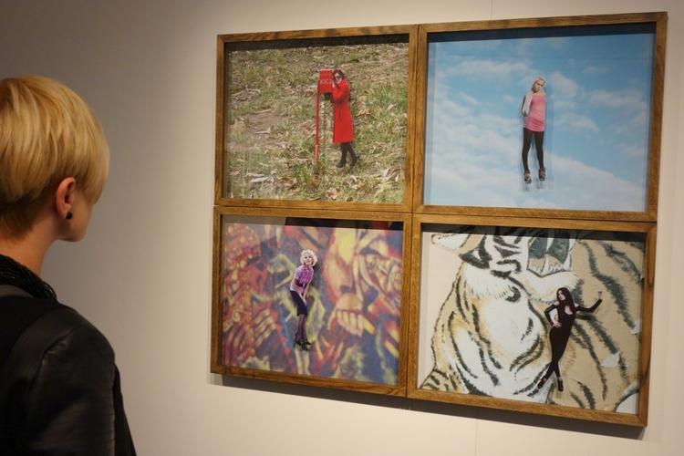 W takiej postaci zdjęcia Adama Pańczuka można zobaczyć tylko podczas wystawy