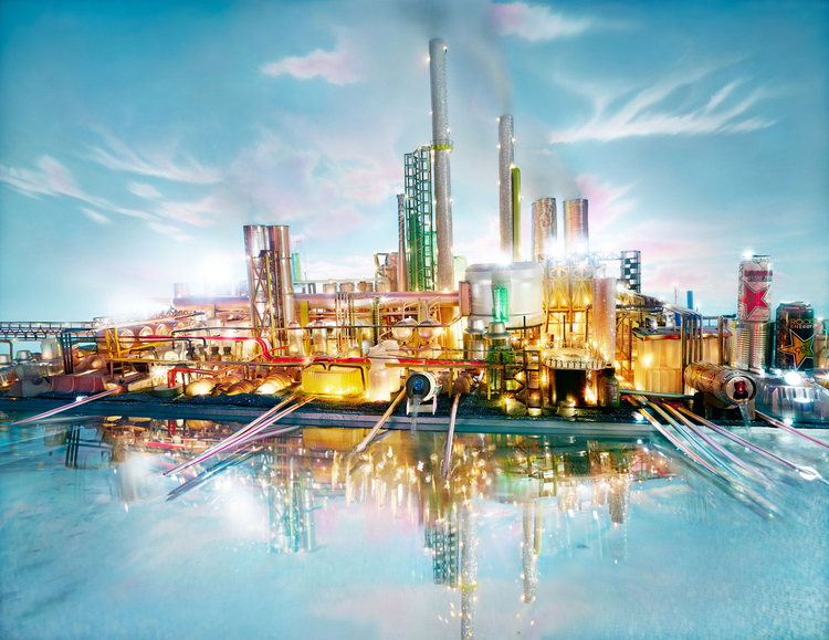 "Z cyklu ""Land Scapes"", fot. David LaChapelle"