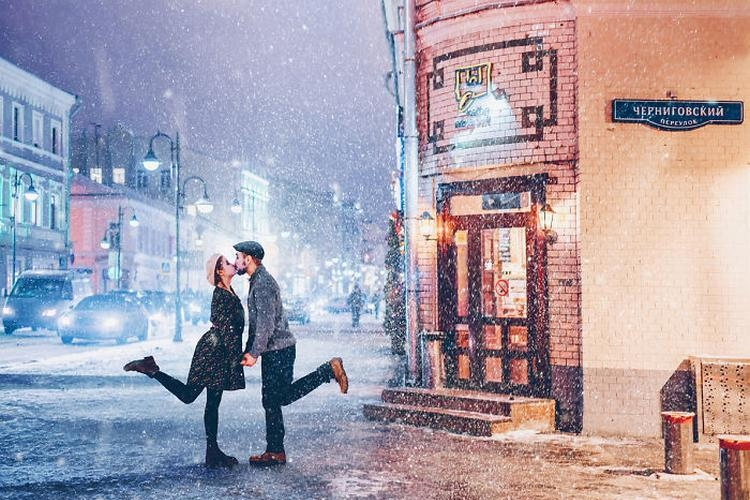 Kristina Makiejewa - fotograficzna baśń o zimowej Moskwie