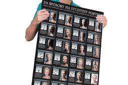 24 sposoby na studyjny portret [pobierz plakat]