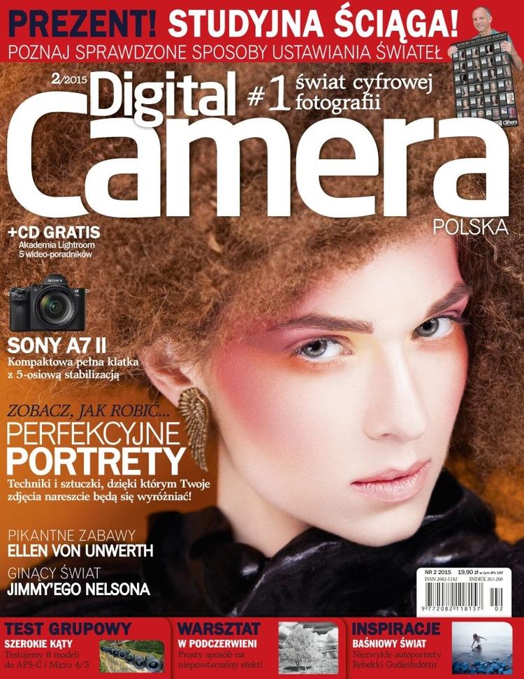 """Wydrukowany plakat """"24 sposoby na studyjny portret"""" dołączony jest do numeru 2/2015 (53) magazynu Digital Camera Polska"""