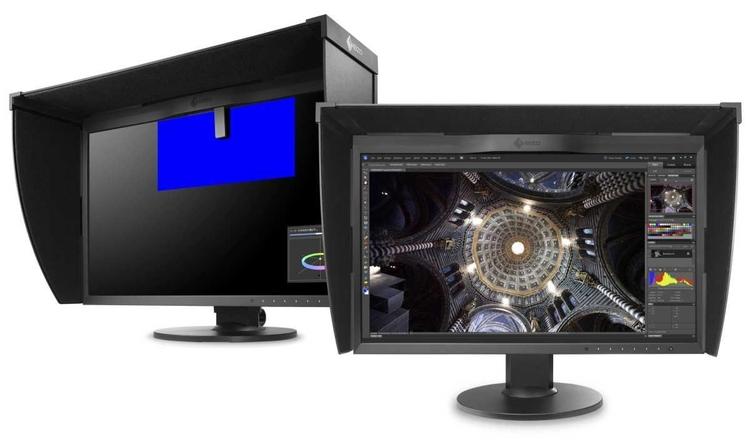 """ColorEdge CG248-4K (10 200 zł) Ten wysokiej jakości monitor o przekątnej 24"""", dzięki rozdzielczości UHD (3840 x 2160 px) wyświetla aż czterokrotnie większy obraz niż standardowy ekran Full HD, co sprawia, że CG248-4K idealnie nadaje się do edycji zdjęć w wysokiej rozdzielczości lub jako monitor referencyjny do tworzenia filmów w standardzie 4K. Zapewnia przy tym wyjątkowo wierne odtwarzanie kolorów i detali. Szeroki gamut monitora gwarantuje odtwarzanie 99% przestrzeni Adobe RGB, 100% kolorów w standardach Rec. 709, EBU i SMPTE-C oraz 93% kolorów w standardzie DCI wykorzystywanym w postprodukcji"""