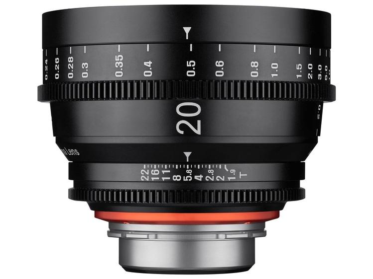 XEEN 20 mm T1.9 - jasno i szeroko do filmowania