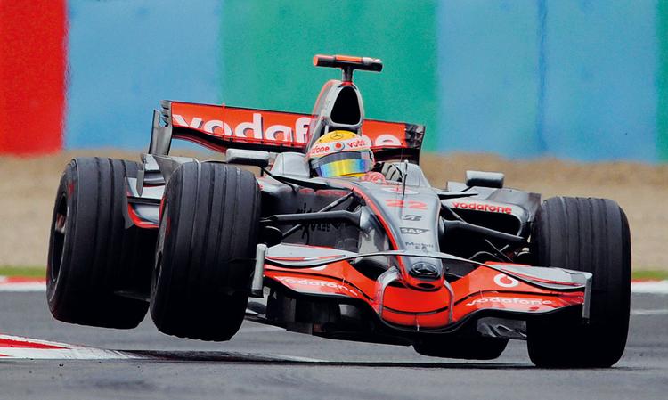 Dave Shopland, Lewis Hamilton, Grand Prix Francji, 2008