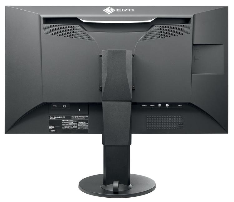 Złącza   Każdy monitor z seri ColorEdge zawiera podstawowe złącza takie jak: DisplayPort, HDMI i DVI-D obsługujące różne typy kart graficznych. Są także dodatkowe złącza USB