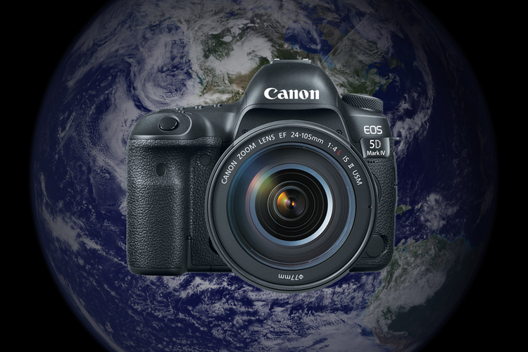 Canon wysyła swoją lustrzankę w kosmos