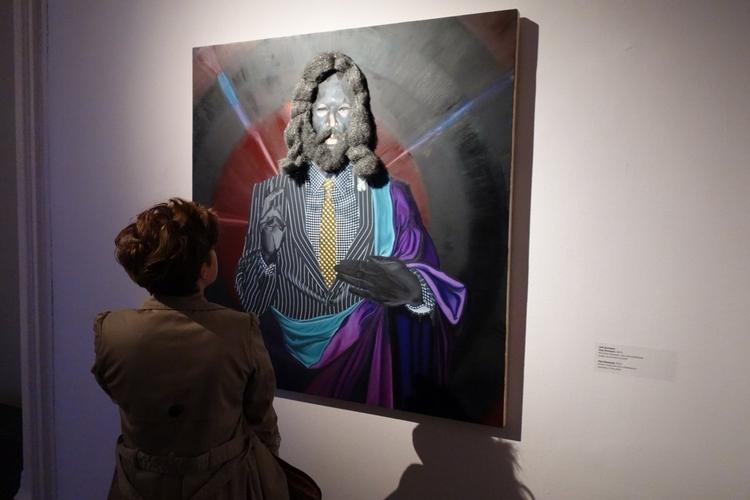 """Jeff Sonhouse, Papi Shampoo 2010 - wystawa zbiorowa """"In God We Trust"""" - Galeria Zachęta"""