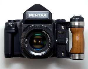 Pentax 67 - aparat fotografa Bartka Wieczorka