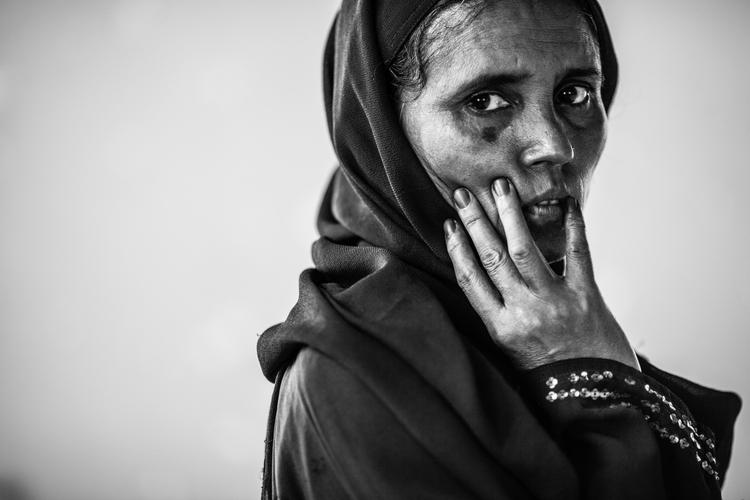 """Wystawa Marcina Zaborowskiego """"Rohingyas. The refugges"""""""
