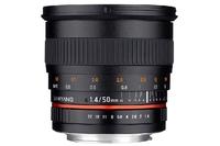 Samyang 50 mm f/1,4 - kolejny manualny standard
